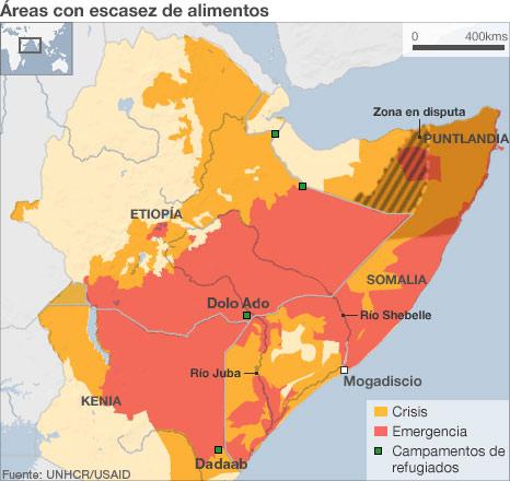 ÁFRICA: 20 MILLONES DE SERES AL BORDE DEL ABISMO