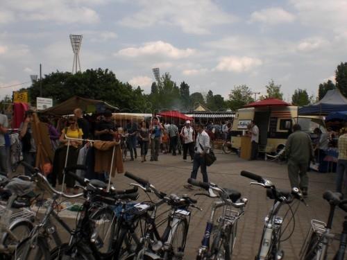 BICIS EN BERLIN - FOTO GUANCHE - berlin-mercadillo-mauerpark-1